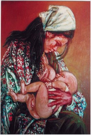 gypsy and child