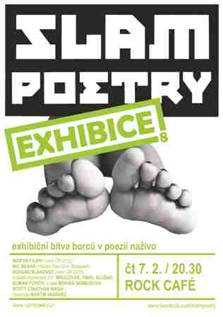 slam poetry plakat